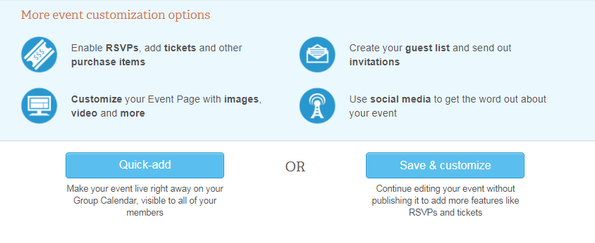 event management and ticket sales memberplanet support