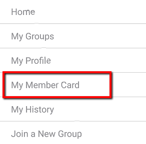 how to create an membership card app